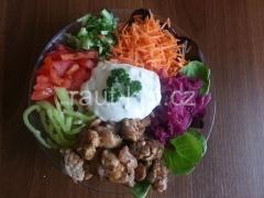 Salát s kuř.masem -12